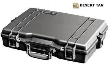 Pelican Desert Tan Waterproof Case 1495NF w/o Foam 1495-001-190