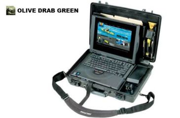 Pelican OD Green Waterproof Case 1495-003-130