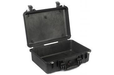 Pelican 1500 Waterproof Hard Case - Black, No Foam