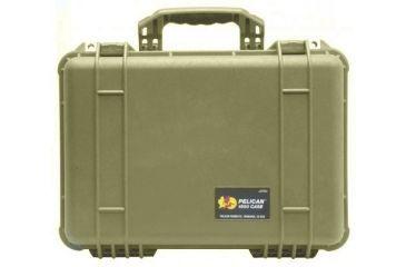 Pelican 1500nf Medium Crushproof Dry Case 18 5x14x7in Desert Tan No Foam