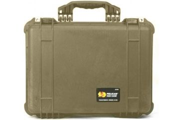Pelican 1520 Protector 19x15x7in Watertight Carrying Case Desert Tan No Foam