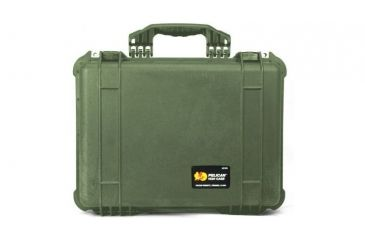 Pelican 1520 Protector 19x15x7in Watertight Carrying Case, OD Green w/Padded Dividers