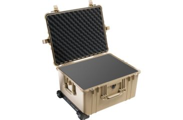 3-Pelican 1620 Protector Watertight Hard Roller Cases w/ Wheels
