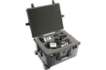 7-Pelican 1620 Protector Watertight Hard Roller Cases w/ Wheels