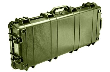 Pelican 1700 Watertight Protector Rifle Cases w/ Wheels - Olive Drab