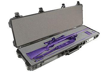 Pelican Rifle Case, Black w/ Foam