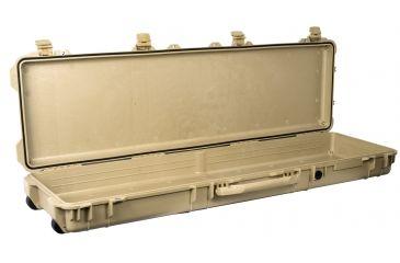 Pelican Waterproof Rifle Case - Desert Tan, no foam