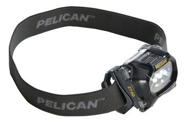 Pelican 2740C Headlamp, Black 027400-0100-110