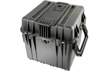Pelican 340 Watertight Protector 18in Cube Case W Wheels No Liner No Foam Black 0340 101 110
