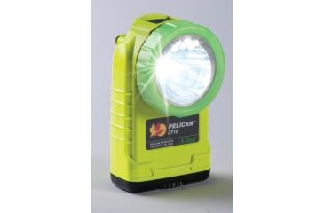 Pelican 3715 Right Angle 174 Lumens LED Flashlight w/ Photoluminescent Shroud, Yellow 3715-000-247