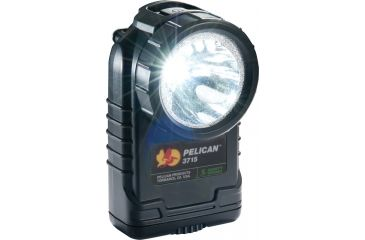 Pelican 3715 Right Angle 174 Lumens LED Flashlight, Black 3715-000-110