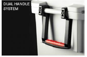 Pelican 45 Quart White Elite Cooler, Handle System 32-45Q-MC-WHT