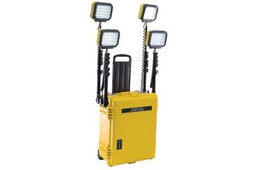 Pelican 9470 Remote Area 4 LED Lighting System - Yellow