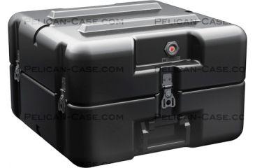 Pelican AL1616-0505 Single Lid Empty Case w/ No Foam, Black AL1616-0505-RP-032