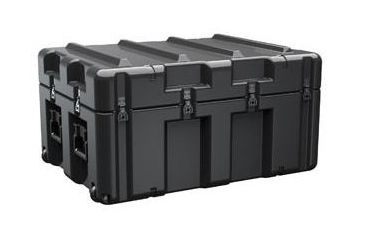 Pelican AL3424-1205 Single Lid Case w/ Foam & No Casters, Black AL3424-1205RPF032
