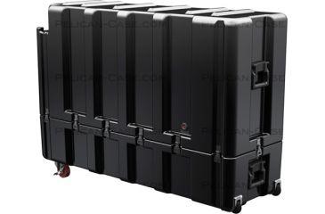 Pelican AL5415-1026AC All Catch Single Lid Empty Case w/ No Foam, Black AL5415-1026-RP-032