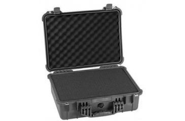 Pelican Medium Universal Carrying Protector Case 1520, Black w/ Foam