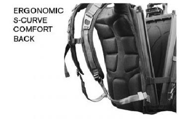 Pelican U100 Elite laptop Backpack, Back OU1000-0003-110