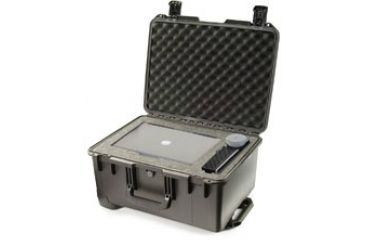 Pelican iM2620 Storm Case w/ Retractable Handle, Wheels, Black - Padded Div iM2620-00002