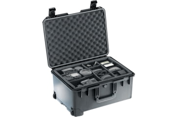 Pelican iM2620 Storm Case w/ Retractable Handle, Wheels, Olive - Padded Div iM2620-30002