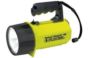Pelican KingLite Pro 4000 8D Heavy Duty Spotlight - laser & wide beam spot light flashlight