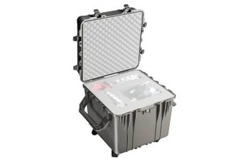 Pelican Large Black Cube Case 0350NF - No Foam
