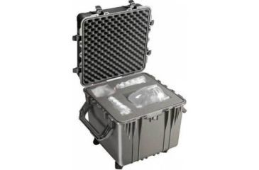 Pelican Large Black Cube Case 0350 W Foam