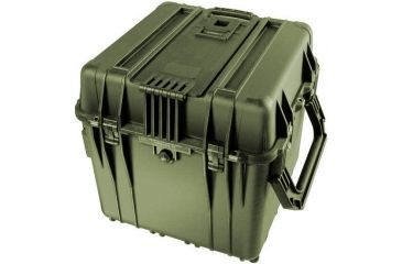 Pelican Large OD Green Cube Case 0340 w/ Foam - 0340-000-130