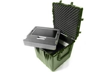 Pelican Large Od Green Cube Case 0370 W Foam