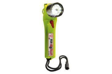 Pelican Little Ed 3610 LED Flashlight, Yellow, Photoluminescent Shroud 3610-016-247