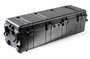 Pelican Long Case 1740NF with no Foam and Lid - Black