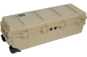 Pelican Long Case 1740 with Foam and Lid - Desert Tan