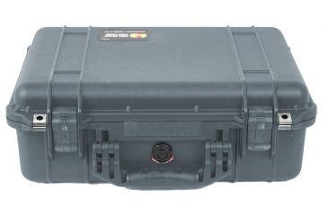 Pelican Medium Silver Case 1500NF - No Foam