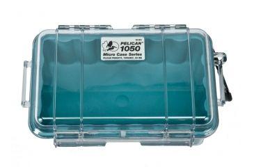 Pelican Micro Case 1050 Clear Aqua