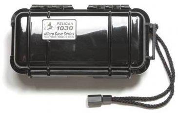 Pelican 1030 Solid Black Case