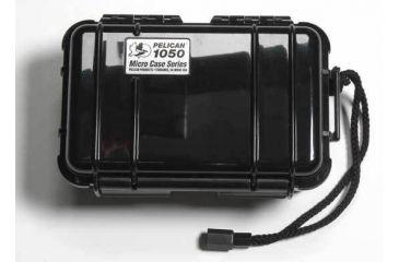 Pelican 1050 Solid Black Micro Case