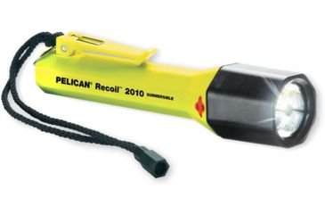 Pelican SabreLite 2010 LED Waterproof Flashlight, Yellow 2010-016-245