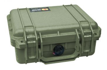 Pelican Small OD Green Case 1200 with Foam
