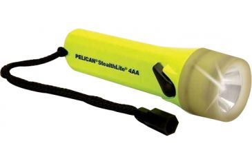 Pelican 2400PL StealthLite Xenon Flashlight with Photo Luminescent Shroud 2400-010-247