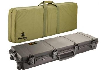 Pelican Storm Cases IM3200 Case, Black w/Coyote Tan Soft-Sided Bag 472PWCDW3200BLKCOY