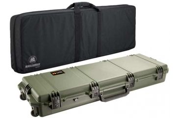 Pelican Storm Cases IM3200 Case, OD Green w/Black Soft-Sided Bag 472PWCDW3200ODBLK