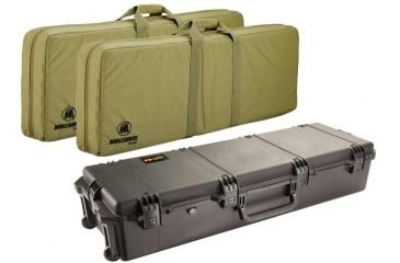 Pelican Storm Cases IM3220 Case, Black w/Coyote Tan Soft-Sided Bag 472PWCDW3220BLKCOY