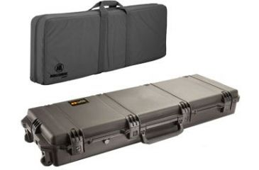 Pelican Storm Cases IM3300 Case, Black w/Black FieldPak Soft Bag