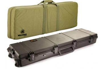 Pelican Storm Cases IM3300 Case, Black w/Coyote Tan Soft-Sided Bag 472PWCDW3300BLKCOY