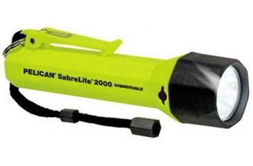 Pelican Super SabreLite 2000 3C Xenon Waterproof Flashlight, 2000C Sabrelite, Assorted