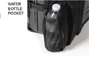 Pelican U100, Elite laptop Backpack, Water Bottle Pouch OU1000-0003-110