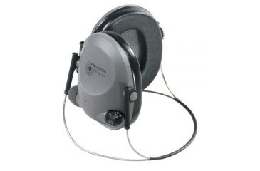 Peltor Tactical 6S Hearing Protector, Neckband, Gray/Black, 19 dB