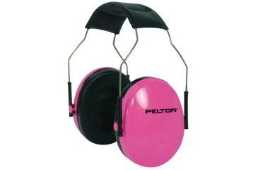 Peltor Junior Earmuffs Designed For Women And Children Adjustable Headband Pink