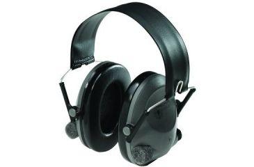Peltor Tactical 6S Hearing Protector, Headband, Gray/Black, 19 dB