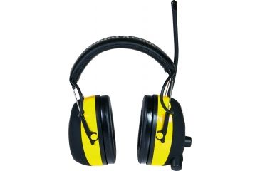 Peltor WorkTunes Hearing Protector With Digital Tuning Yellow/Black